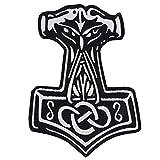 Thor' S Hammer toppa patch germanen Mjölnir