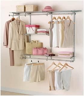 Rubbermaid Configurations Closet Kits, 3-6 ft., Titanium (FG3H1102TITNM)