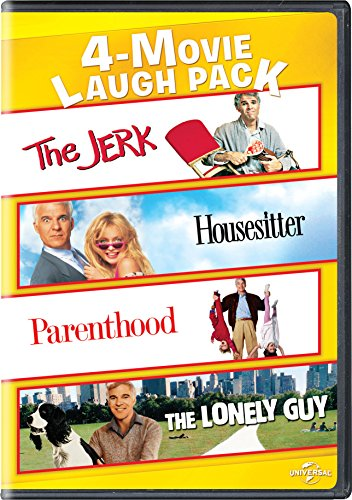 The Jerk/Housesitter/Parenthood/The Lonely Guy 4-Movie Laugh Pack