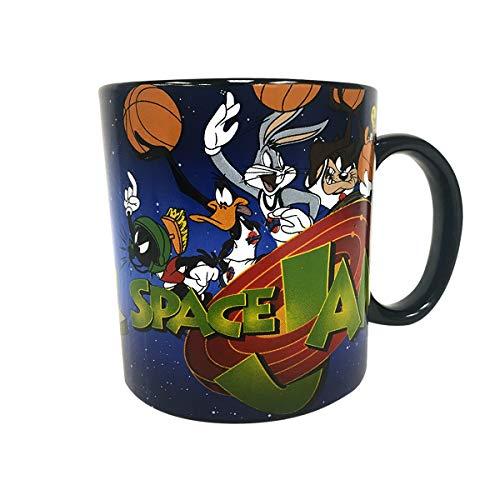 Space Jam 20oz Jumbo Ceramic Mug Coffee Bugs Bunny Daffy Duck Taz Marvin Martian