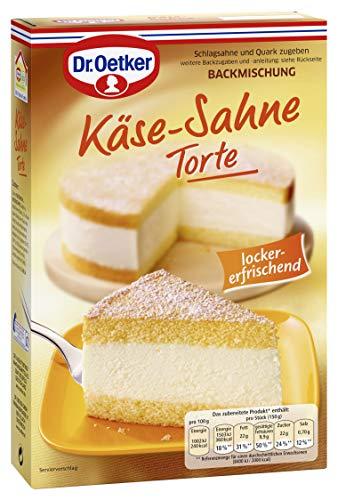 Dr. Oetker Käse Sahne Torte, 4er Pack (4 x 385 g)