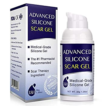 Scar Remover Gel for Scars from C-Section Stretch Marks Acne Surgery Effective for both Old and New Scars