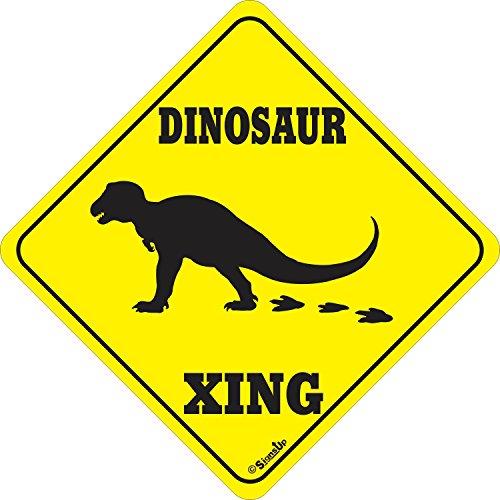 Dinosaur XING Sign