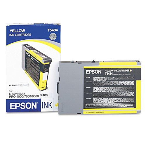 Epson Inkjet Print Cartridge, T543500, 3800 Page Yield, Light Cyan EPST543500 Photo #3