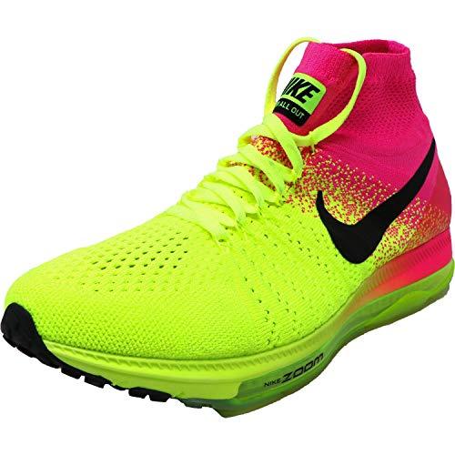 Nike Damen W Zoom All Out Flyknit oc Laufschuhe, Schwarz (Mehrfarbig/Multi-Color), 38.5 EU