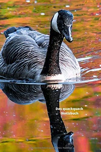 Das quackquack Notizbuch: Enten schwimmen im See