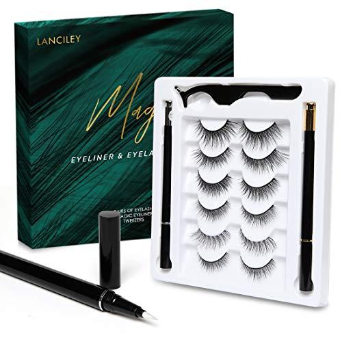 Magic Eyelashes and Eyeliner Kit Glue & Magnet Free $10.00 (50% OFF)