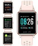 Smartwatch Orologio Fitness Trakcer Pressione Sanguigna Monitor Cardiofrequenzimetro da Polso...