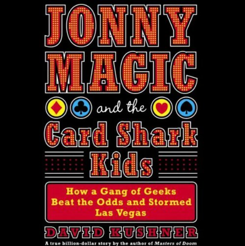Jonny Magic and the Card Shark Kids audiobook cover art