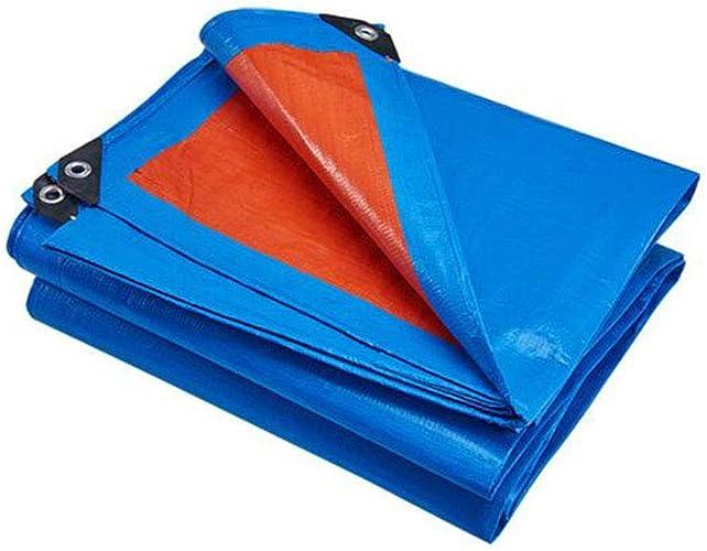 CJC Bache Imperméable Lourd Devoir Drap Prime Qualité Couverture 180g m2 (Couleur   Bleu, Taille   6X4M)