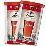 COOPERS 2 paquetes de mortero preparado Brew A IPA (India palas Ale) 1,7 kg