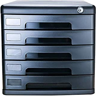 Boîte de rangement en métal à tirette confortable pour bureau, armoire, placard, porte de rangement, boîte de données, tir...