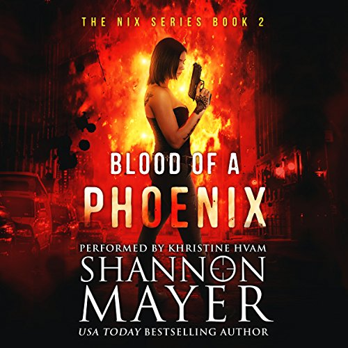 Blood of a Phoenix audiobook cover art