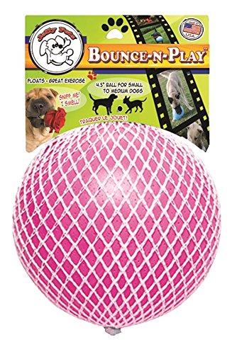 Jolly Pets JOLL068B Hundespielzeug Ball Bounce-n Play, 11 cm, pink