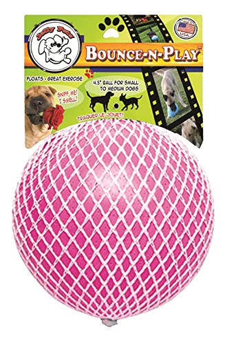 Jolly Pets JOLL068B Hundespielzeug Ball Bounce-n Play, 11 cm, pink