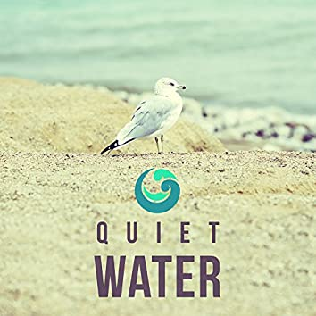 Quiet Water – Deep Blue, Relax, Calmness, Relaxation, Fresh, Rested, Pure Aqua, Ice Cubes
