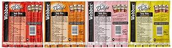 Webbox Chats Delight Gourmet Bâtonnets à Mâcher Friandise Variété Pack 12 X 6 (72 Bâtonnets)