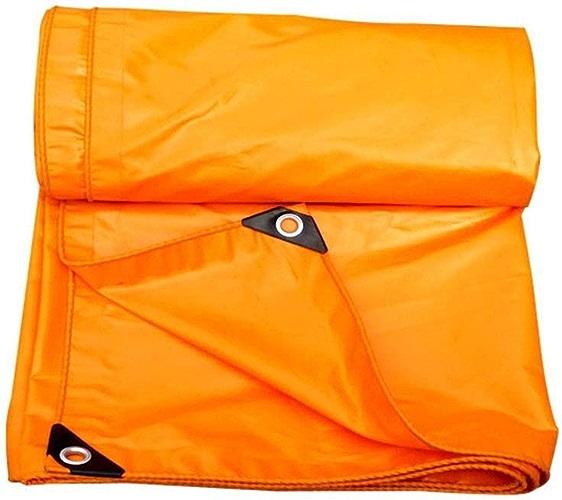 QYQPB De Plein air Toile de Prougeection pour Tente de remorque de Camping, bache Orange, 420g   m2, Plusieurs Options Filet d'ombrage (Taille   5mx6m)