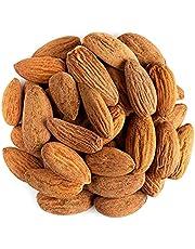 Amandelen Geheel Biologisch Ongezouten Rauw - Deze hele ongezouten amandelen zitten boordevol smaak. Of het nu gaat om een snelle, eiwitrijke snack, een topping op je favoriete ontbijtgranen of granola, of als ingrediënt in koekjes en gebak.