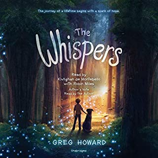 The Whispers audiobook cover art