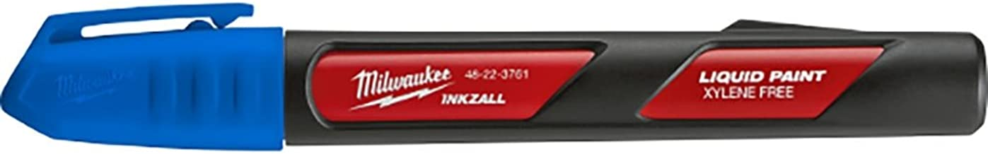 Milwaukee Electric Tools Paint Marker, Blue (48-22-3761)