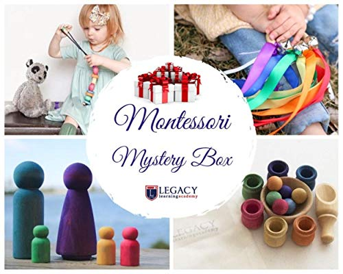 Buy Cheap AVT Montessori Toy Mystery Box – Montessori Materials Surprise Box, Easter Basket Filler Ideas for Kids, Easter Basket Stuffers for Girls Boys