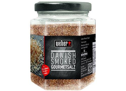 Weber Danish Smoked Gourmetsalz, 1er Pack (1 x 160 g)