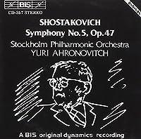 Symphony No. 5 by DIMITRI SHOSTAKOVICH (1994-03-25)