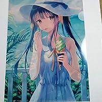 A4クリアファイル Hiten メロンブックス コミケ96 カタログ特典 anime グッズ