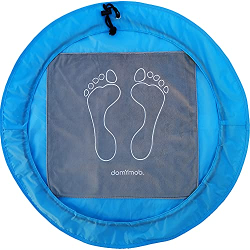 Alfombrilla antideslizante de vestuario para natación, gimnasio, fitness, spa, ducha, bolsa plegable...
