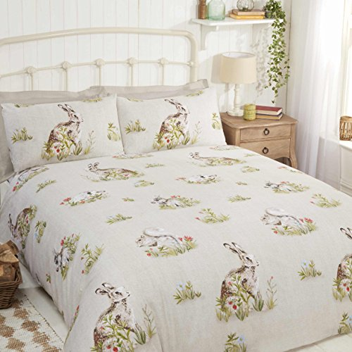 Rapport Country Bumpkin Duvet Set, Double, Polyester-Cotton, Multi-Colour, 200 x 200 x 1 cm