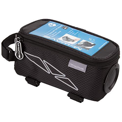 M-Wave 122377.0 tas voor camera en smartphone, unisex, volwassenen, zwart, eenheidsmaat