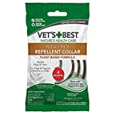"Vet's Best Flea and Tick Repellent Collar for Dogs | Pest Repellent Dog Collar | Dog Flea & Tick Treatment with Certified Natural Oils | Up to 20"" Neck Size"