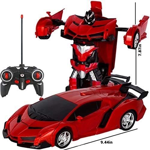 Schimer Roboter Spielzeug, 2 in 1 lustiges kreatives Set Pädagogisches Spielzeug-Set der Roboter-Auto-Bausteine, Bestes Spielzeug Geschenk für Kinder 6-16 Jahre alt