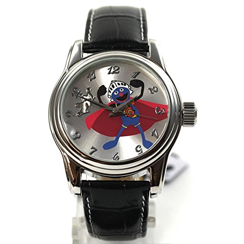 The Muppets Reloj mujer RELOJ Gonzo automático reloj correa de piel brillantes dibujos animados reloj