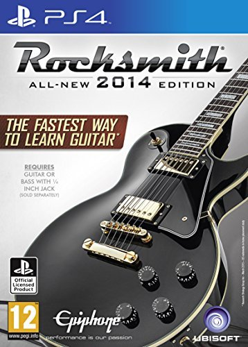 Rocksmith 2014 Edition with Real Tone Cable (PS4) by UBI Soft