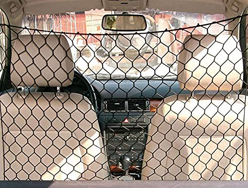 Tekshopping® - Red separadora de malla ancha para el transporte de animales (perros y gatos) en el coche, 120נ90cm