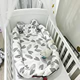 Baby Bed, Eip Organic Newborn Lounger/Bed Bassinet, Perfect for Cuddling, Lounging and Co