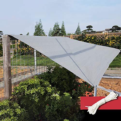 LCYXM schaduw Netting Voor Patio Heavy Duty Grijs Balkon Railing Schaduw Stoffen Dek Omheining Privacy Screen Tarp Plant Kas Netting Mesh Doek - Zon Bescherming/Ademenbaarheid/Anti-licht regen