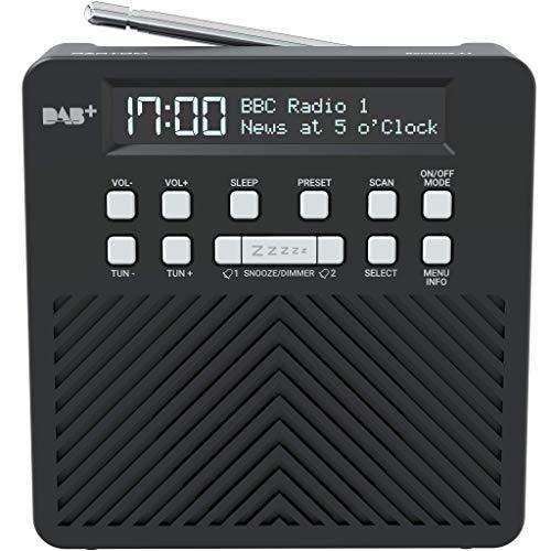 AZATOM Sonance T1 DAB/DAB+ Digital FM Radio Alarm Clock - Speaker System -...