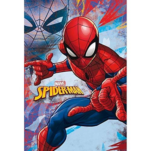 Star Marvel Spiderman Art. Code 55889 - Manta Estampada (100 x 150 cm)