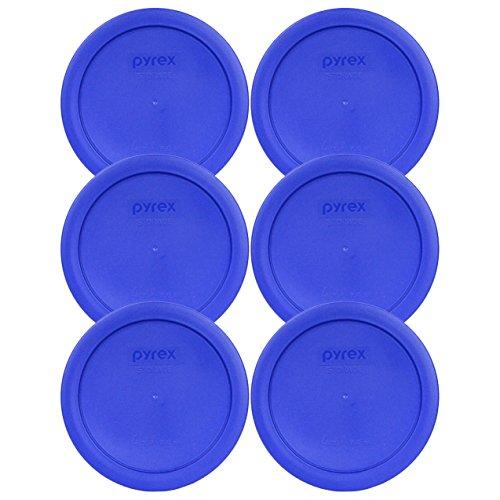 Pyrex 4 x 950ml Round Glass Bowl Lids