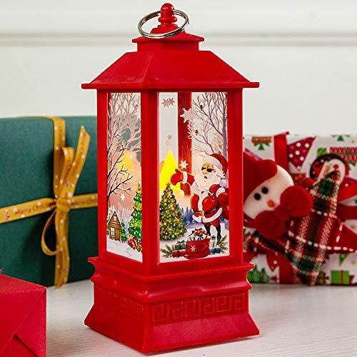 W-Lynn Kerstdecoratie, nachtlampje, grote kerstman/eenhoorn hangen, kerstversiering, desktopdecoratie, decoratieve verlichting voor kerstfeesten F