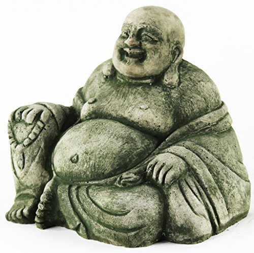 Happy Buddha Statue Home and Garden Statues Cement Buddhas Figures