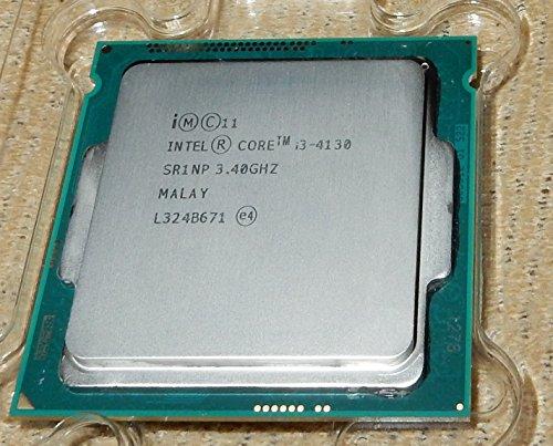 Intel Core i3-4130 - Procesador (4ª generación de procesadores Intel® Core™ i3, 3,4 GHz, LGA 1150 (Zócalo H3), PC, 22 NM, i3-4130)