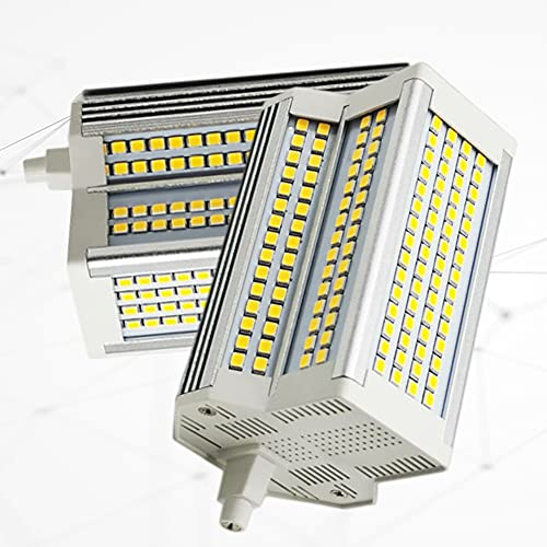 2-PC 118 mm 50 W R7S Bombilla LED 500 W Equivalente halógeno Blanco frío 6000 K Tipo J 118 mm Luz de inundación de Doble Extremo Ángulo de Haz de 220 °
