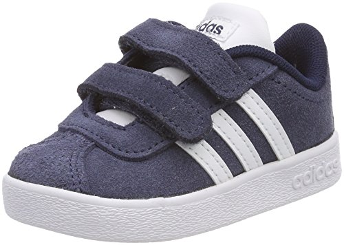 adidas Unisex Baby VL Court 2.0 CMF Hausschuhe, Blau (Maruni Ftwbla 000), 20 EU
