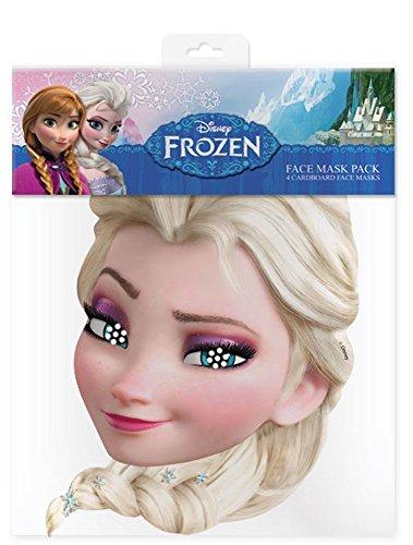 empireposter Elsa – Frozen Masque en Carton Brillant Haute qualité en Carton avec Trous pour Les Yeux et élastique 30 x 20 CM