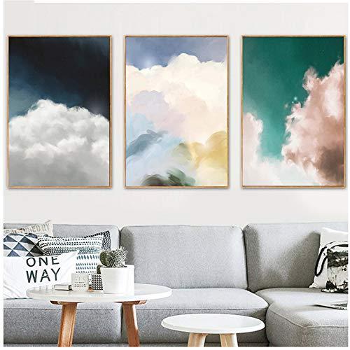 Cuadro en lienzo Arte de la pared Impresión en la nube