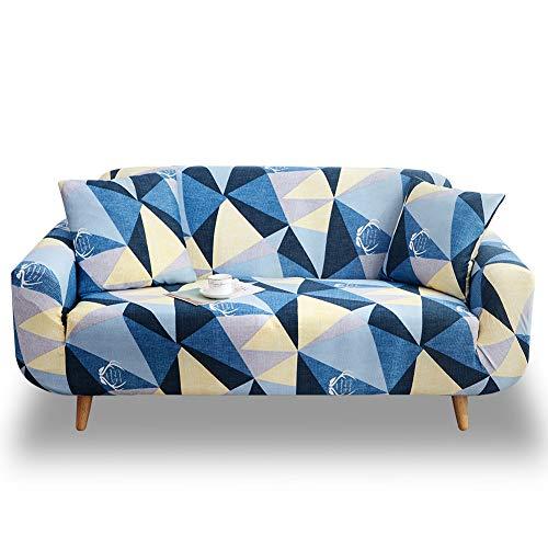 Hotniu Stretch Sofa Slipcover 1-delig Polyester Spandex Stoel Stoel Stoel Loveseat Meubelbeschermer Covers 1/2/3/4 Zitbanken